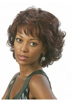 Wavy Layered Style Synthetic Capless Wig