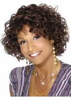 """12"""" Wavy Synthetic Capless Wig"""
