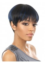 Chic Short Synthetic Straight Capless Wig