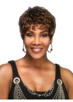 Short Boy Cut Synthetic Lace Front Wig