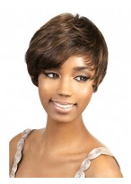 Clearance Sweep Short Synthetic African American Wig