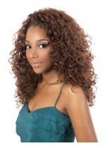 Charm Long Curly Synthetic Capless Wig