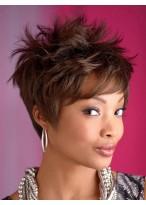 Trendy Semi-Spiky Dorie Synthetic Wig