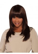 Classic Wrap Style Straight Synthetic Wig