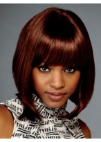 Blunt Cut Lace Front Synthetic Wig