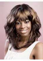 Long Water Wavy Synthetic Capless Wig