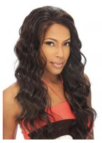 Long Wavy Remy Human Hair Lace Front Wigs