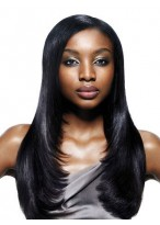 Heat Friendly Synthetic Wig Long Straight Wig