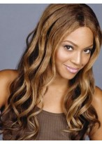 Hot Selling Fashionable Long Wave Lace Front Wigs for Black Women
