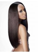 Best Quality 100% Remy Human Hair Long Straight Full Lace Wig
