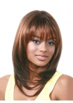 """Layered Long Synthetic Straight about in 16"""" For Black Women"""