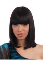 """14"""" Layered Bob Style Full Bang Synthetic Wig"""
