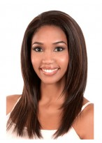 Natural Looking Straight Lace Front Synthetic Wig