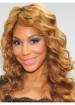 Indian Hair Long Wavy African American Lace Front Wigs for Women