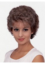 Astrid Short Curly Synthetic Wig