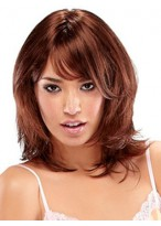 Shoulder Length Capless Synthetic Wig