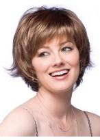Feathered Layer Cut Synthetic Wig