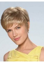 Sandy Synthetic Wigs