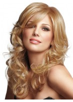 Soft Layers Wavy Lace Front Bombshell Style Wig