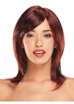 Spunky Front Lace Synthetic Wig