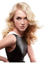 Shoulder Length Full Lace Synthetic Wig