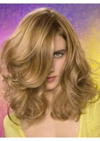 Gorgeous Spiral Wavy Lace Front Synthetic Wig