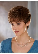 Beautiful Waves Short Lace Front Synthetic Wig