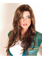 Wonderful Long Wavy Synthetic Capless Wig for Woman
