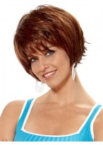 Pretty Short Straight Synthetic Wig