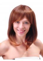 Medium Capless Straight Synthetic Beautifu Wig For Women