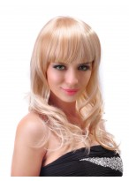 Lady's Long Capless Wavy Synthetic Wig Of  New Style
