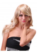 Hot Style Long Wavy Lace Front Synthetic Wig