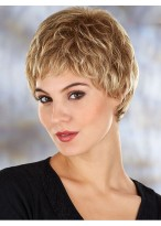 Gorgeous Short Wavy Synthetic Lace Front Wig