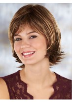 Hot Sell Short Synthetic Capless Wavy Wig