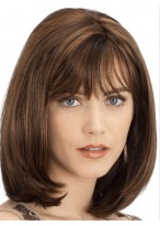 Beautiful Women's Medium Lace Front Straight Wig