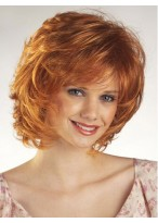 Beautiful Women's Short Wavy Capless Wig