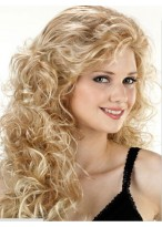Long Curly Capless Synthetic Wig For Women