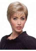 Short Straight Lace Front Synthetic Wigs