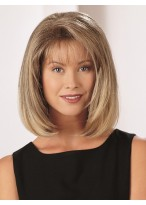 Women's Medium Straight Lace Front Synthetic Hair Wig