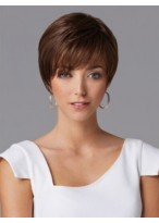 Beautiful Short Capless Straight Synthetic Wig