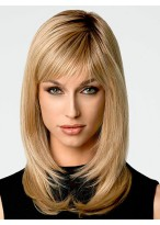 Beautiful Women's Long Straight Synthetic Hair Wig