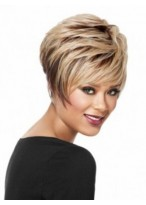 High Quality Women's Short Full Lace Synthetic Hair Wig