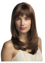 Long Capless Straight Synthetic Hair Wig For Women