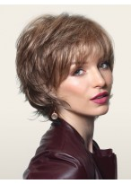 synthetic capless short curly wig