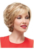 Lace Front Short Shaggy Hair Layers Style Wig