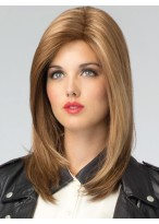 Silkystrsight Lace Front Long Shaggy Hair Layers Style With Swept Bangs Wig