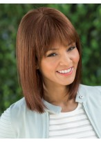 Shoulder-length Hair Silkystrsight Lace Front Wig