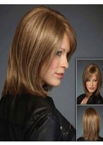 Medium Straight Lace Front Synthetic Wig