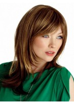 Curly Medium Capless Synthetic Wig