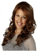 Long Capless Curly Synthetic Wig